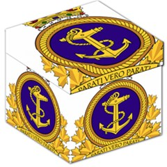Badge Of Royal Canadian Navy Storage Stool 12   by abbeyz71