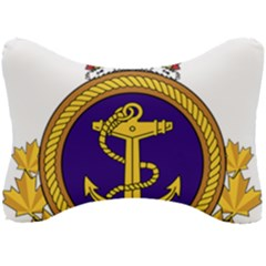 Badge Of Royal Canadian Navy Seat Head Rest Cushion by abbeyz71