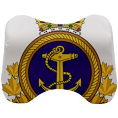 Badge Of Royal Canadian Navy Head Support Cushion by abbeyz71