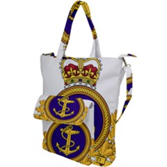Badge Of Royal Canadian Navy Shoulder Tote Bag by abbeyz71