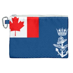 Canadian Naval Auxiliary Jack Canvas Cosmetic Bag (xl)