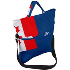 Canadian Naval Auxiliary Jack Fold Over Handle Tote Bag by abbeyz71