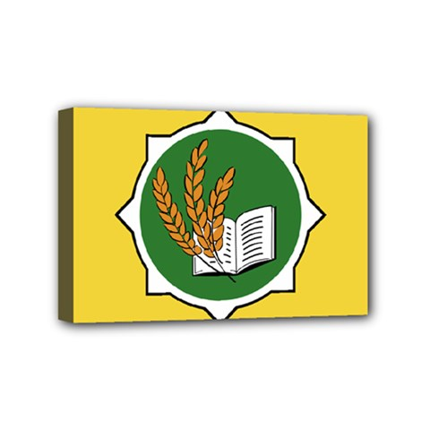 Flag Of Bozeman, Montana Mini Canvas 6  X 4  (stretched) by abbeyz71
