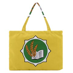 Flag Of Bozeman, Montana Zipper Medium Tote Bag by abbeyz71