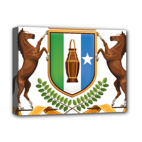 Coat Of Arms Of Puntland Deluxe Canvas 16  X 12  (stretched)