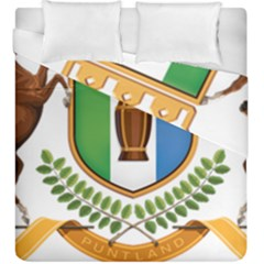 Coat Of Arms Of Puntland Duvet Cover Double Side (king Size) by abbeyz71