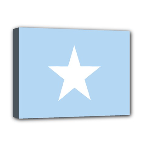 Flag Of Puntland, Pre 2009 Deluxe Canvas 16  X 12  (stretched)