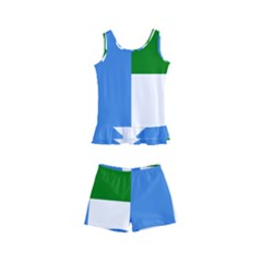Flag Of West Puntland Kid s Boyleg Swimsuit by abbeyz71