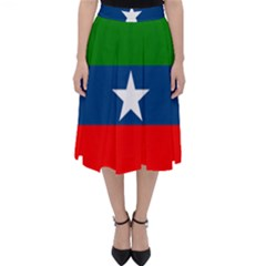 Flag Of Ogaden National Liberation Front Classic Midi Skirt