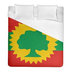 Flag Of Oromo Liberation Front Duvet Cover (full/ Double Size) by abbeyz71