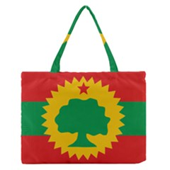 Flag Of Oromo Liberation Front Zipper Medium Tote Bag by abbeyz71