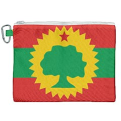 Flag Of Oromo Liberation Front Canvas Cosmetic Bag (xxl) by abbeyz71