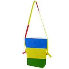 Flag Of Beja Congress Folding Shoulder Bag by abbeyz71