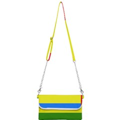 Flag Of Beja Congress Mini Crossbody Handbag by abbeyz71