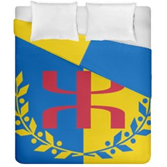 Flag Of Kabylie Region Duvet Cover Double Side (california King Size) by abbeyz71