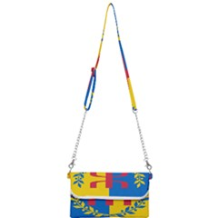 Flag Of Kabylie Region Mini Crossbody Handbag by abbeyz71