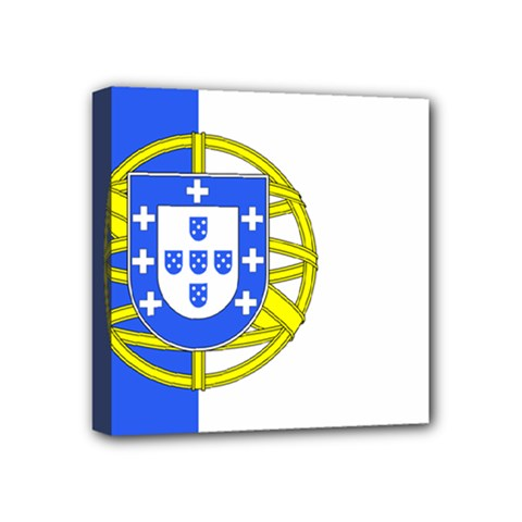Proposed Flag Of Portugalicia Mini Canvas 4  X 4  (stretched)