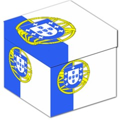 Proposed Flag Of Portugalicia Storage Stool 12