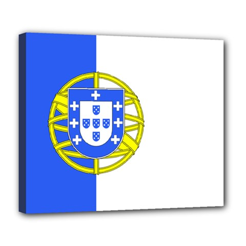 Proposed Flag Of Portugalicia Deluxe Canvas 24  X 20  (stretched)