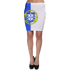 Proposed Flag Of Portugalicia Bodycon Skirt