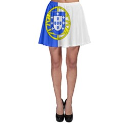 Proposed Flag Of Portugalicia Skater Skirt