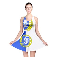 Proposed Flag Of Portugalicia Reversible Skater Dress