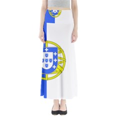 Proposed Flag Of Portugalicia Full Length Maxi Skirt