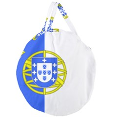 Proposed Flag Of Portugalicia Giant Round Zipper Tote