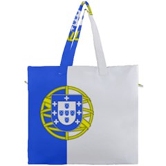 Proposed Flag Of Portugalicia Canvas Travel Bag