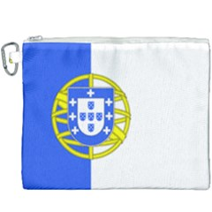Proposed Flag Of Portugalicia Canvas Cosmetic Bag (xxxl) by abbeyz71