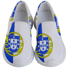 Proposed Flag Of Portugalicia Kid s Lightweight Slip Ons