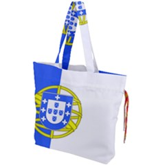 Proposed Flag Of Portugalicia Drawstring Tote Bag