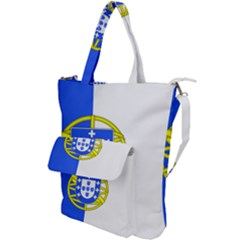 Proposed Flag Of Portugalicia Shoulder Tote Bag