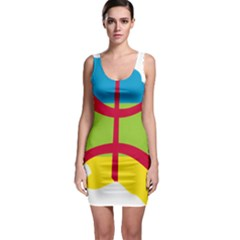 Kabylie Flag Map Bodycon Dress