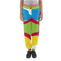 Kabylie Flag Map Women s Jogger Sweatpants