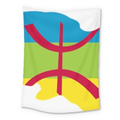 Kabylie Flag Map Medium Tapestry