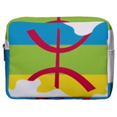 Kabylie Flag Map Make Up Pouch (large)