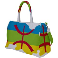 Kabylie Flag Map Duffel Travel Bag