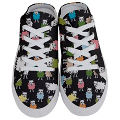 Sheep Cartoon Colorful Half Slippers