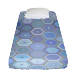 Bee Hive Background Fitted Sheet (single Size)