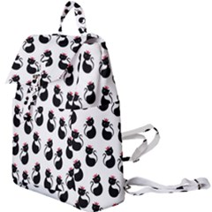 Cat Seamless Animal Pattern Buckle Everyday Backpack