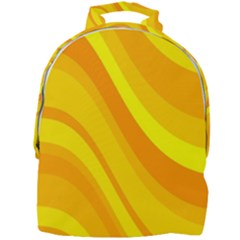 Orange Yellow Background Mini Full Print Backpack by Jojostore
