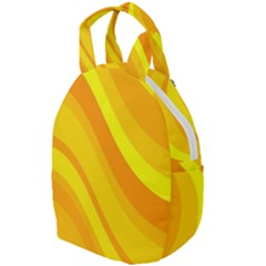 Orange Yellow Background Travel Backpacks by Jojostore