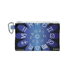 Astrology Birth Signs Chart Canvas Cosmetic Bag (small)