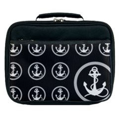 Anchor Pattern Lunch Bag by Jojostore