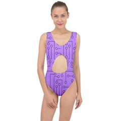 Peripherals Center Cut Out Swimsuit