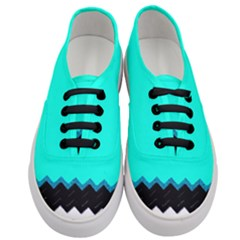 Pattern Digital Painting Lines Art Women s Classic Low Top Sneakers