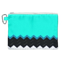 Pattern Digital Painting Lines Art Canvas Cosmetic Bag (xl)