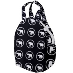 Elephant Wallpaper Pattern Travel Backpacks by Jojostore
