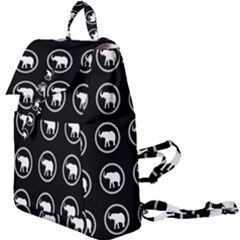 Elephant Wallpaper Pattern Buckle Everyday Backpack